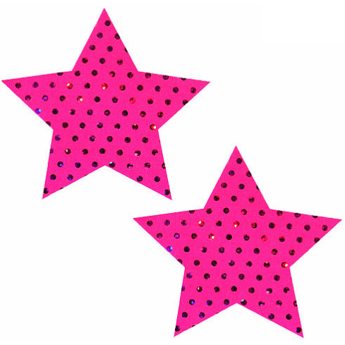 Cosmopolitan Pink Star Pasties - Rave Rebel