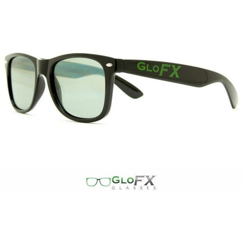 Ultimate Diffraction Glasses – Black Tinted