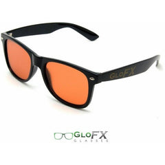 Ultimate Diffraction Glasses – Black Auburn Enhanced - Rave Rebel