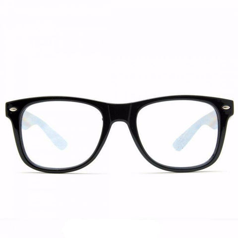Ultimate Diffraction Glasses – Black - Rave Rebel
