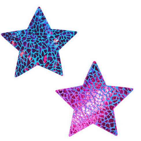 Eragon Hologram Starry Nights Pasties - Rave Rebel