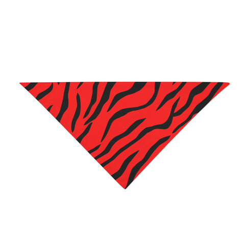 Red Tiger Bandana - Rave Rebel