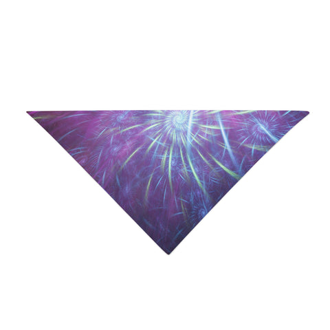 Electric Galaxy Bandana - Rave Rebel