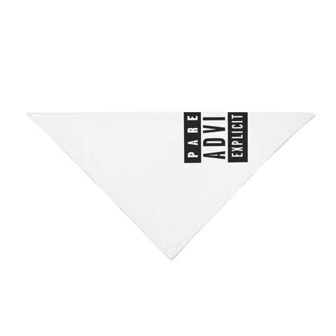 Parental Advisory Bandana - Rave Rebel