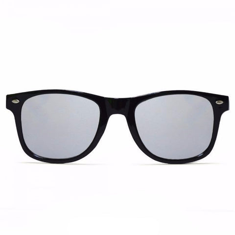 GloFX Diffraction Glasses – Black – Mirror - Rave Rebel