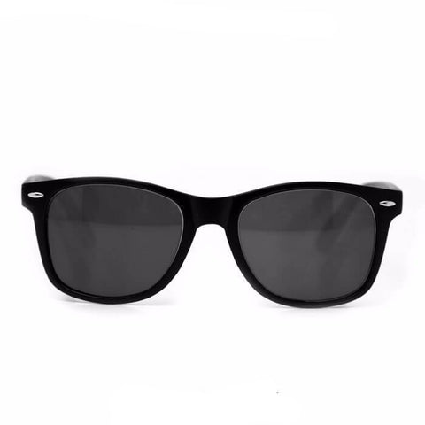 Diffraction Glasses – Matte Black Tinted - Rave Rebel