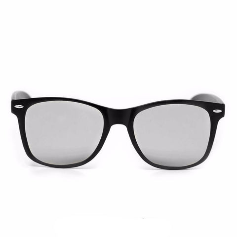 Diffraction Glasses – Matte Black – Mirror - Rave Rebel