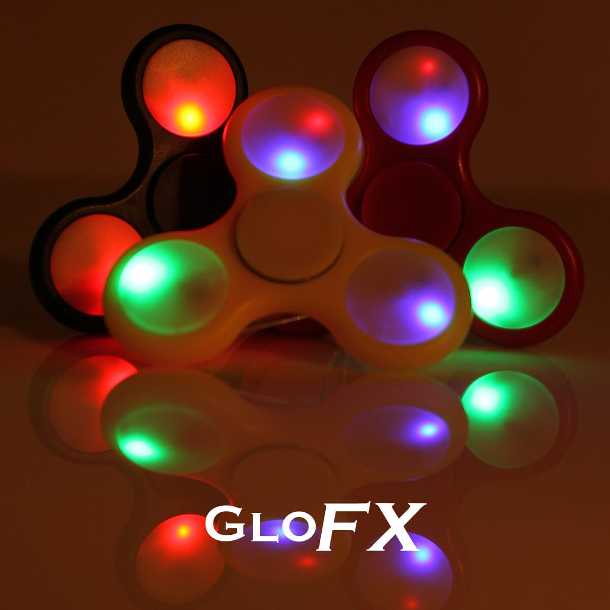 GloFX LED Light Up Fidget Spinner