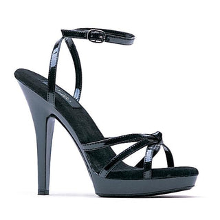 "5"" Heel Strappy Sandal - Rave Rebel"