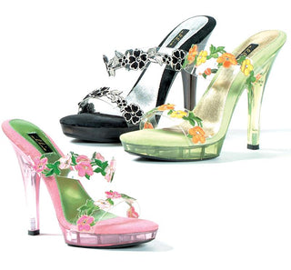 "5"" Heel Flower Sandal - Rave Rebel"