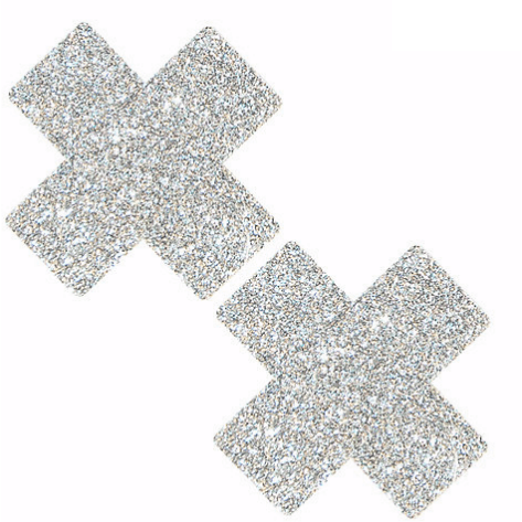 Pixie Dust Silver Glitter X Pasties - Rave Rebel