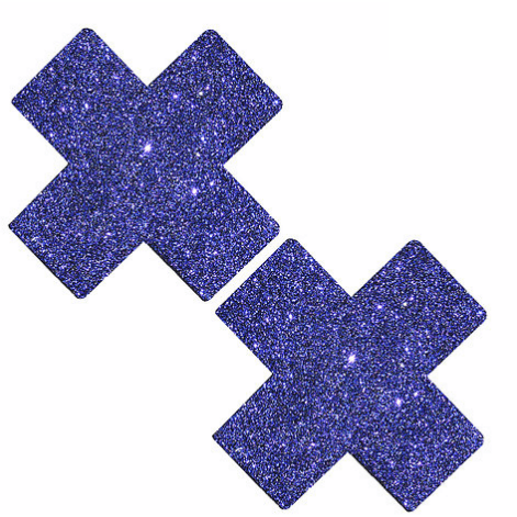 Purple Rain Glitter X Pasties - Rave Rebel