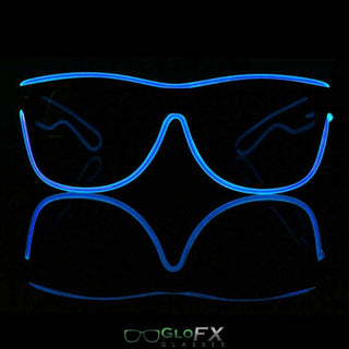 Customizable Light Up Sunglasses - Rave Rebel
