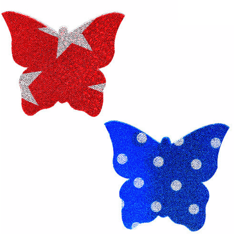 Wonder Woman Butterfly Pasties