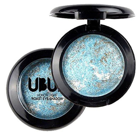 UBUB Blue & Gold Shimmer Metallic Eyeshadow Palette