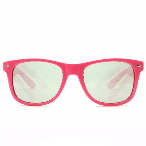 GloFX Ultimate Diffraction Glasses – Pink Tinted