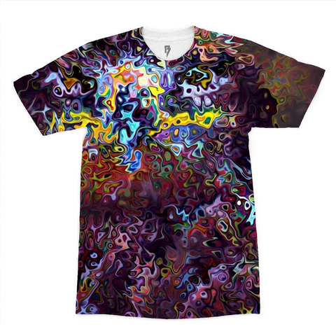FIRE EAGLE Men's Tee - Rave Rebel