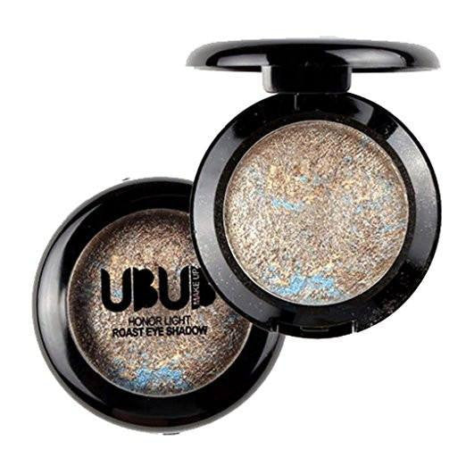 UBUB Gold Shimmer Metalic Eyeshadow Palette - Rave Rebel