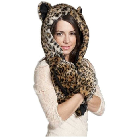 Leopard Hood - Rave Rebel