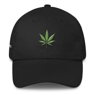 Weed Leaf Dad Cap - Rave Rebel