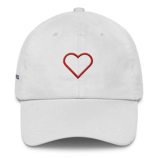 Embroidered Heart Classic Dad Cap - Rave Rebel