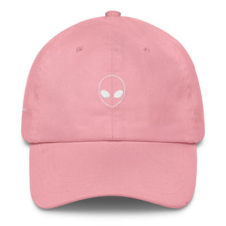 Pink Alien Head Classic Dad Cap - Rave Rebel