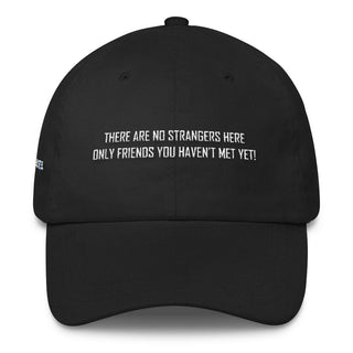 No Strangers Dad Cap - Rave Rebel