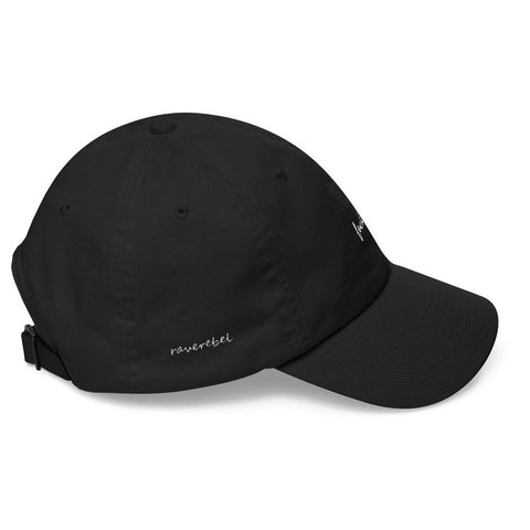 Black Fuck Off Classic Dad Cap - Rave Rebel
