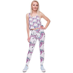 Purple Unicorn Leggings - Rave Rebel