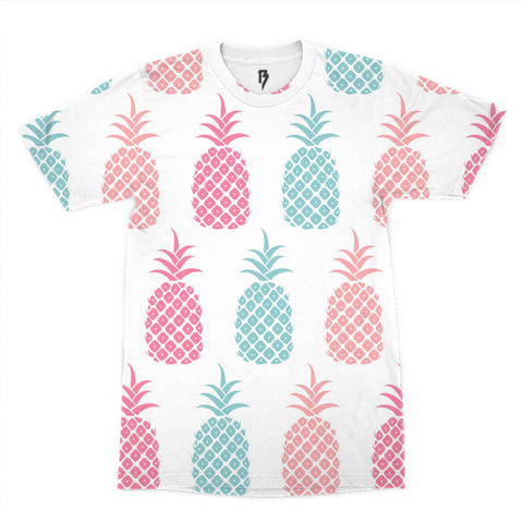 Pineapple Bliss Men's Tee - Rave Rebel