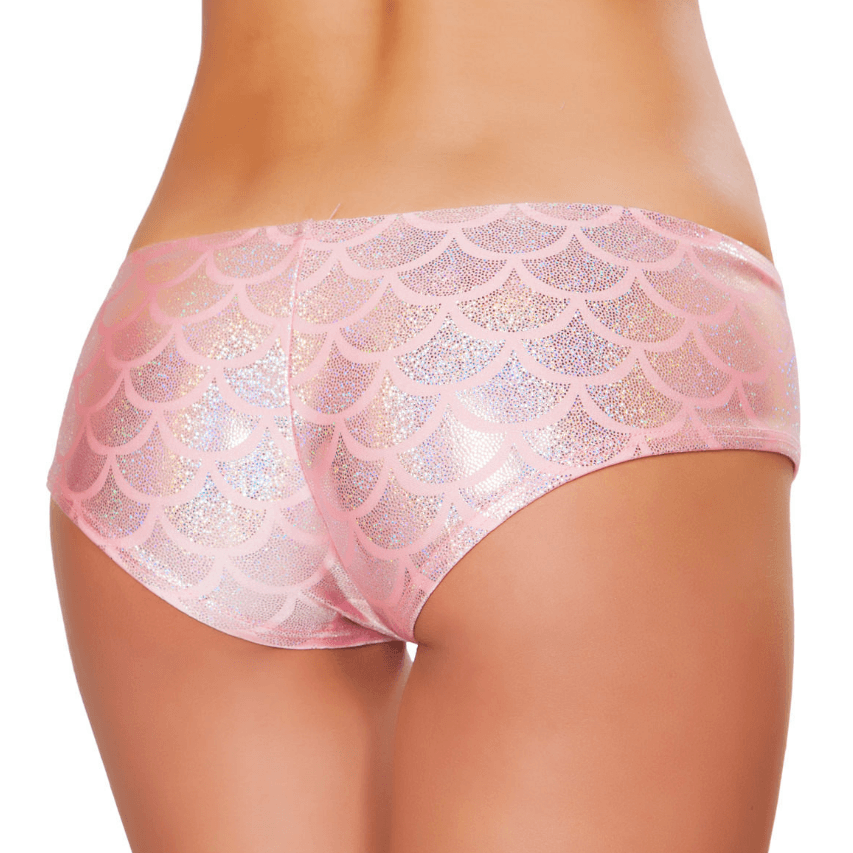 Pink Mermaid Shorts - Rave Rebel