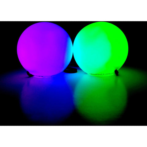 GloFX LED Poi Balls: 9-Mode