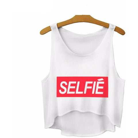 Selfie Crop Top - Rave Rebel