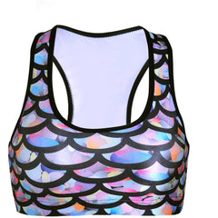 Dragon Scale Crop Top - Rave Rebel