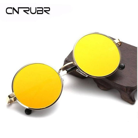 CURNBR  Round Metal Sunglasses - Rave Rebel