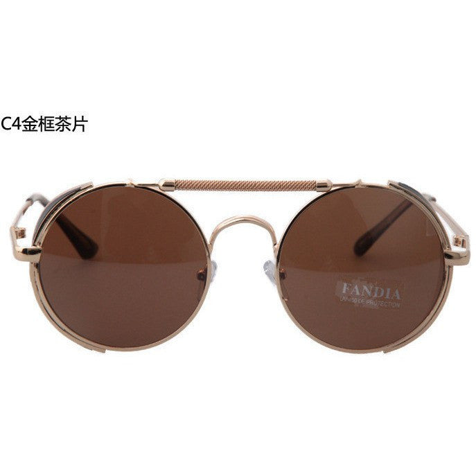 CNBUR Steampunk Retro-Reflective Sunglasses - Rave Rebel
