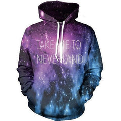 Take Me To Neverland Hoodie - Rave Rebel