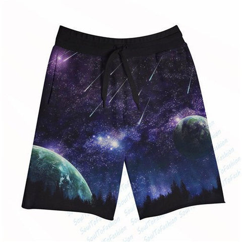 Meteor Strikes Board Shorts