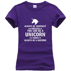 """Always Be Yourself Unless You Can Be A .. "" Tee - Rave Rebel"