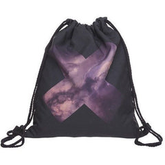 X Galaxy Drawstring Bag - Rave Rebel