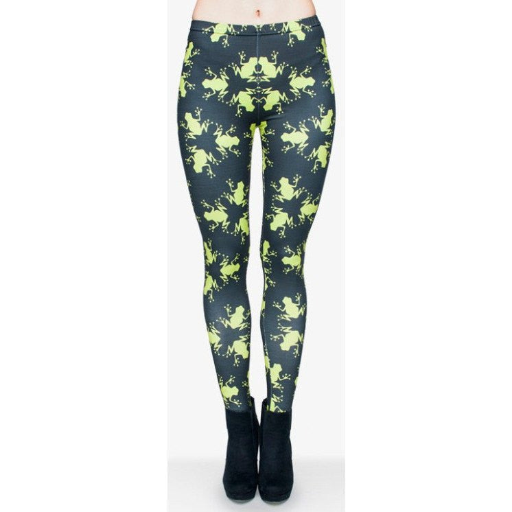 Leap Frog Leggings - Rave Rebel