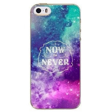 Now or Never Case For iPhone, Samsung Galaxy + Edge Phones - Rave Rebel
