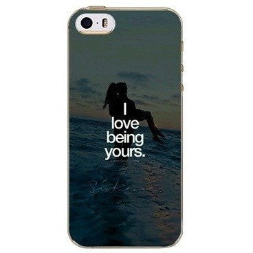 I Love Being Yours Case For iPhone, Samsung Galaxy + Edge Phones - Rave Rebel
