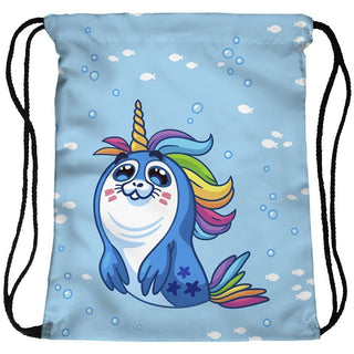SealCorn Drawstring Bag - Rave Rebel