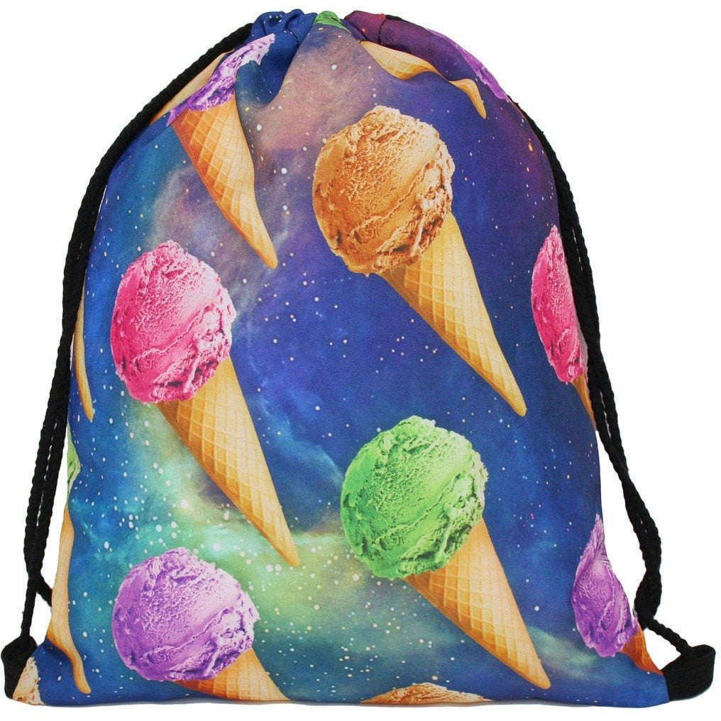 Ice Cream Drawstring Bag - Rave Rebel