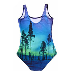 Aurora Sky Bodysuit - Rave Rebel