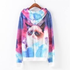 Happy Cat Pullover - Rave Rebel