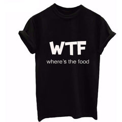 WTF where's the food Tee - Rave Rebel