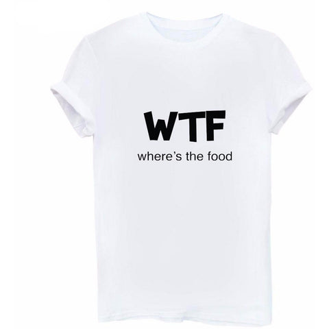 WTF where's the food Tee
