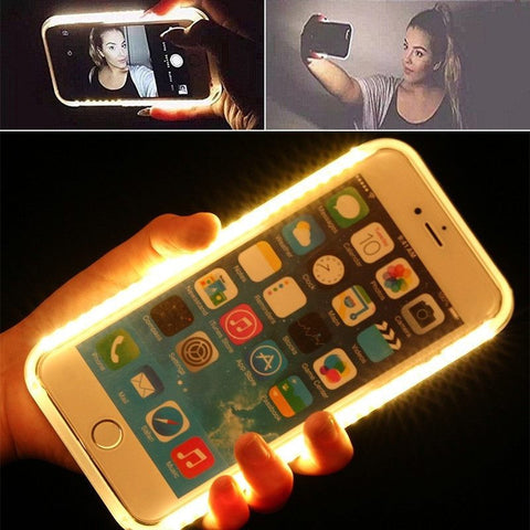LED Phone Case for iPhone, Galaxy and Edge Phones - Rave Rebel